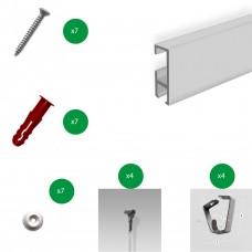 Exhibition hanging Kit - Screen Anchor Flexi panel hook