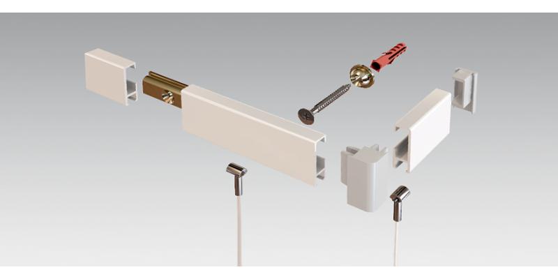 Clip Rail Smart - Heavy Duty System