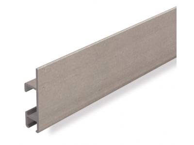 Clip Rail Max, steel 2m 25 kg/m