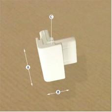 Clip Rail Corner Connector