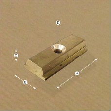Clip Rail Straight Connector