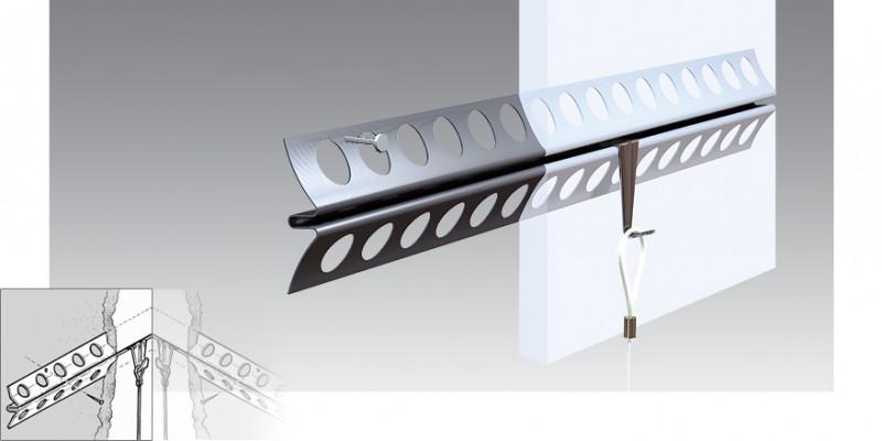 plaster rail system