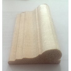 Traditional Wood Picture Moulding, Rail 2.4m